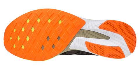 Mizuno Wave Aero 18 кроссовки для бега мужские черные-оранжевые