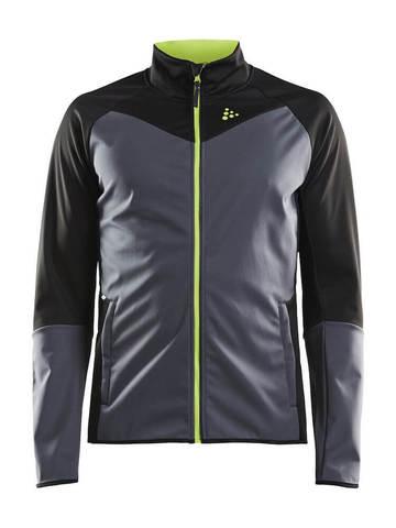 Craft Glide XC лыжная куртка мужская grey-black