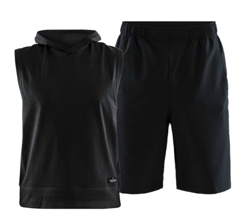 Craft Deft 2.0 Stretch мужской тренировочный комплект черный