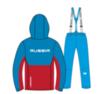 Nordski Montana Premium RUS теплый лыжный костюм мужской Blue-Red - 4
