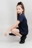 Nordski Jr Run футболка для бега детская dress blue - 4