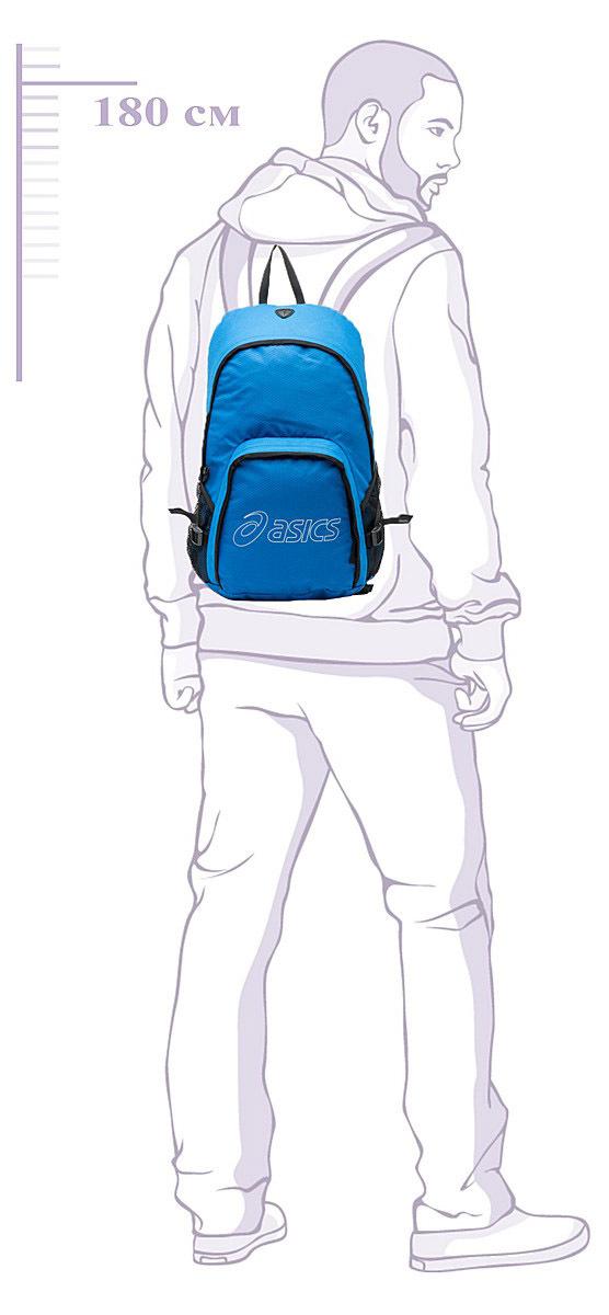 Рюкзак Asics Backpack Blue - 5