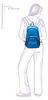 Рюкзак Asics Backpack Blue - 6