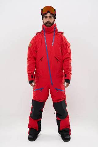 Cool Zone KITE мужской комбинезон для сноуборда красный