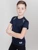 Nordski Jr Run футболка для бега детская dress blue - 1