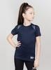 Nordski Jr Run футболка для бега детская dress blue - 2