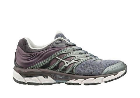 Mizuno Wave Paradox 5 кроссовки для бега женские серые