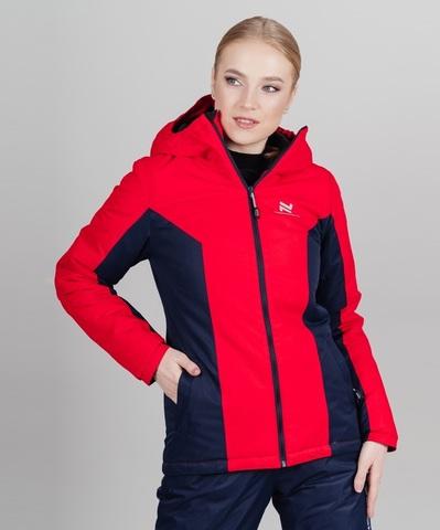 Nordski Base теплая куртка женская red