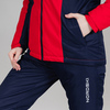 Nordski Base теплая куртка женская red - 5