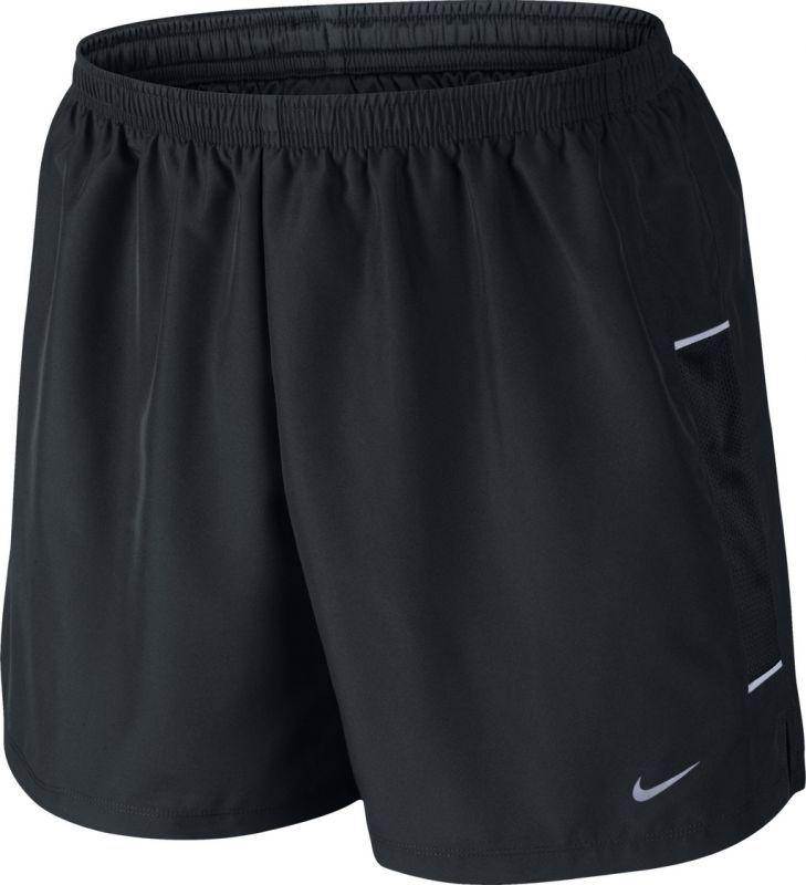 "Шорты л/а Nike 5"" Woven Reflective Short чёрные"
