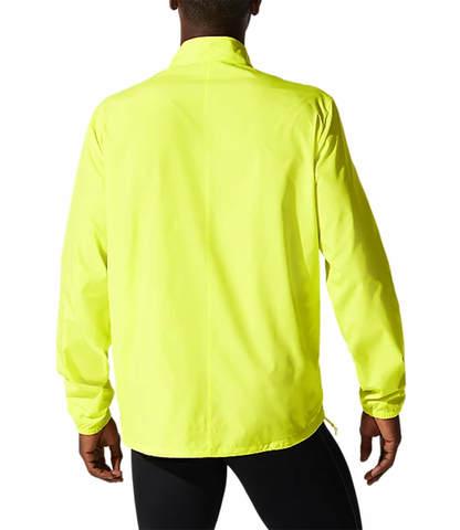 Asics Core Jacket куртка для бега мужская желтая