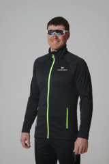 Nordski Elite 2020 разминочная куртка мужская black