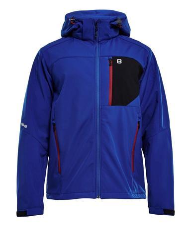 Мембранная прогулочная куртка 8848 ALTITUDE DAFT SOFTSHELL мужская синяя