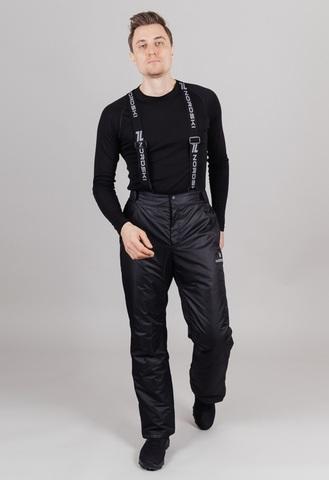 Nordski Premium прогулочные лыжные брюки мужские black
