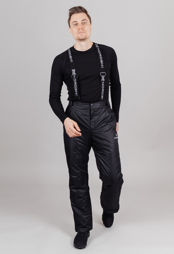 Nordski Premium Sport теплый лыжный костюм мужской grey - 5