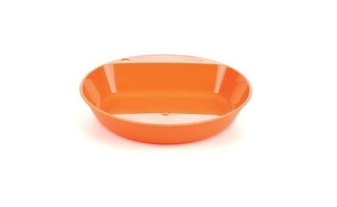 Wildo Camper Plate Deep глубокая туристическая тарелка orange