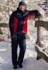 Теплый лыжный костюм мужской Nordski Base темно-синий-красный - 1