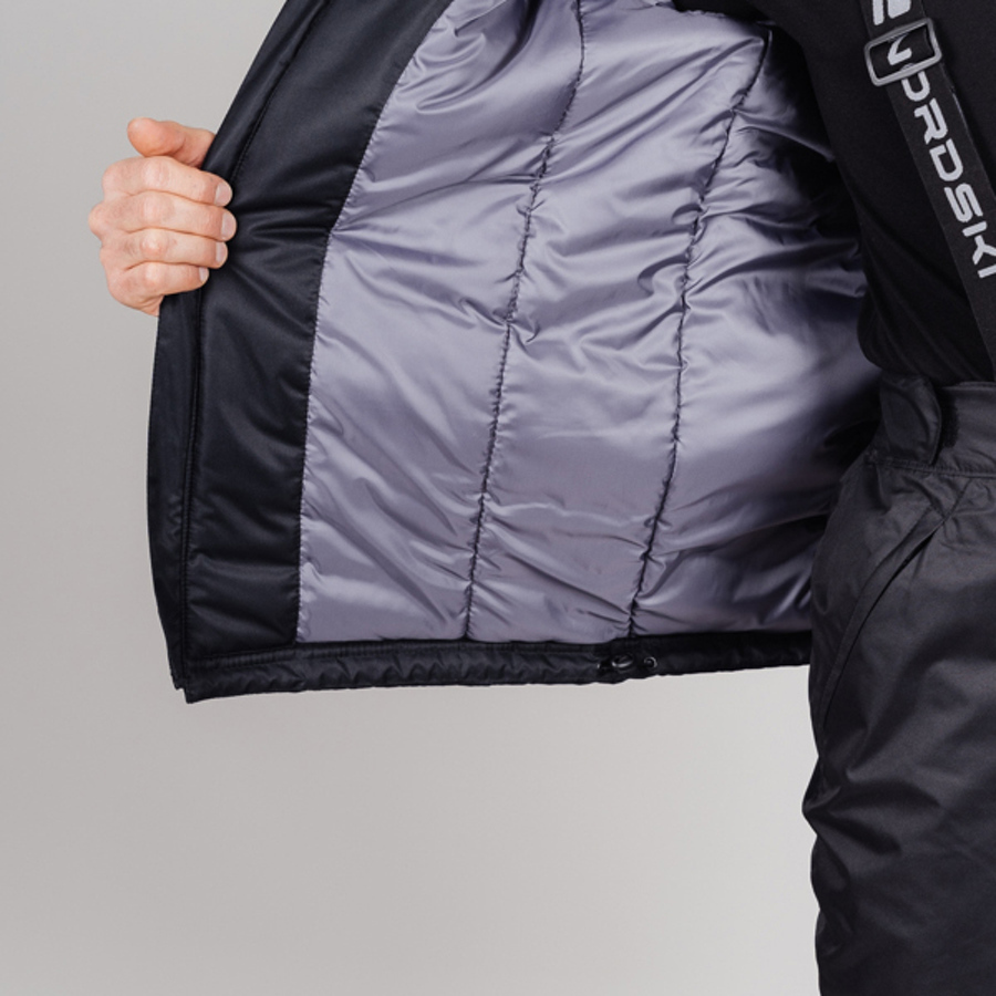 Nordski Premium Sport теплый лыжный костюм мужской grey - 4