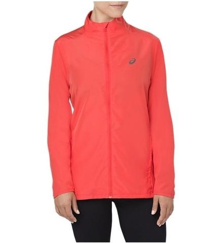 Куртка для бега женская Asics Jacket коралловая