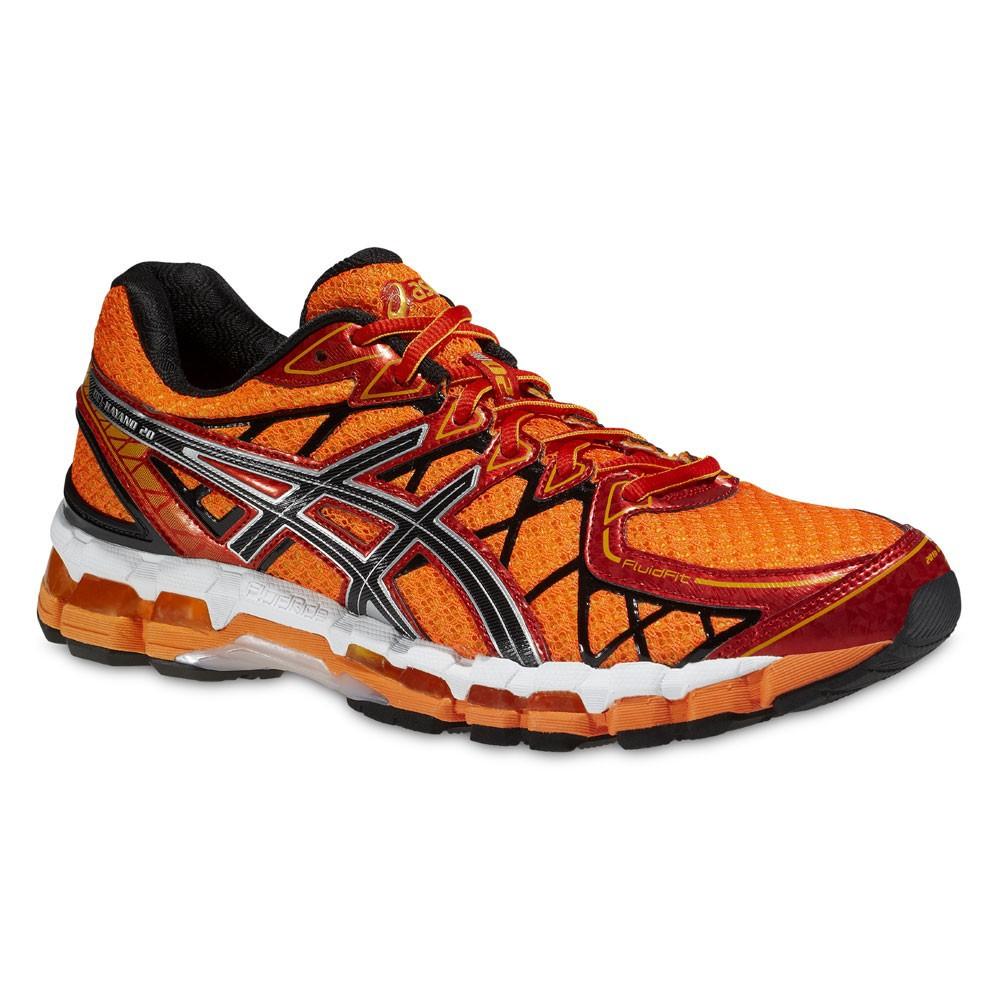 Asics Gel-Kayano 20 кроссовки для бега оранжевые - 5