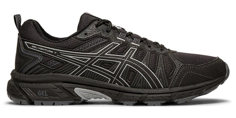 Asics Gel Venture 7 кроссовки-внедорожники для бега мужские черные