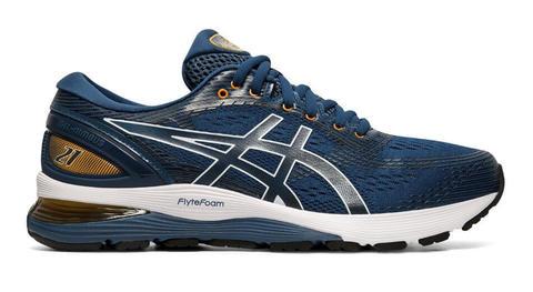 Asics Gel Nimbus 21 кроссовки для бега мужские синие