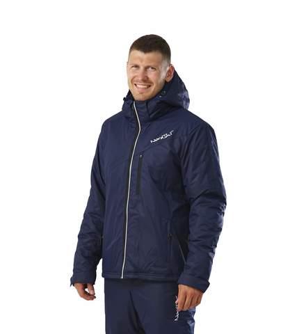 Nordski утепленная лыжная куртка темно-синяя