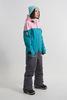 Cool Zone VIBE комбинезон для сноуборда женский св.розовый-волна - 2