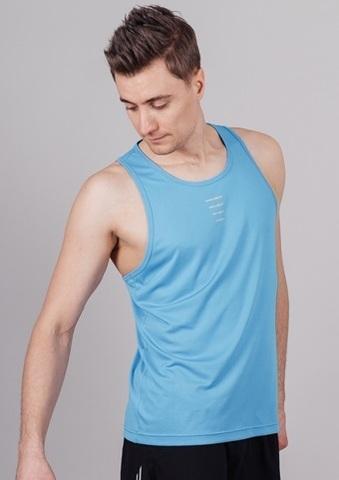 Nordski Run майка беговая мужская blue