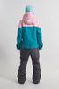Cool Zone VIBE комбинезон для сноуборда женский св.розовый-волна - 4