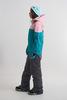 Cool Zone VIBE комбинезон для сноуборда женский св.розовый-волна - 5