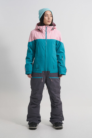 Cool Zone VIBE комбинезон для сноуборда женский св.розовый-волна