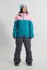 Cool Zone VIBE комбинезон для сноуборда женский св.розовый-волна - 1
