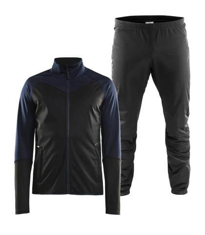 Craft Glide Storm лыжный костюм мужской black-blue