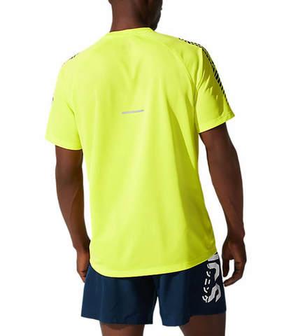 Asics Icon Ss Top беговая футболка мужская желтая