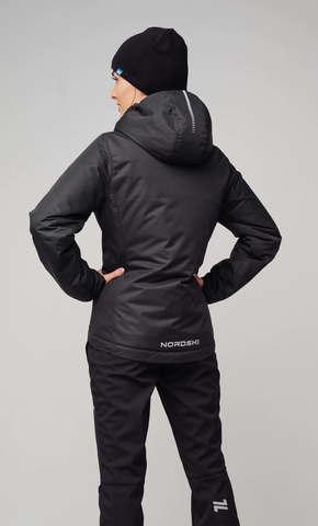 Nordski Urban утепленная куртка женская black