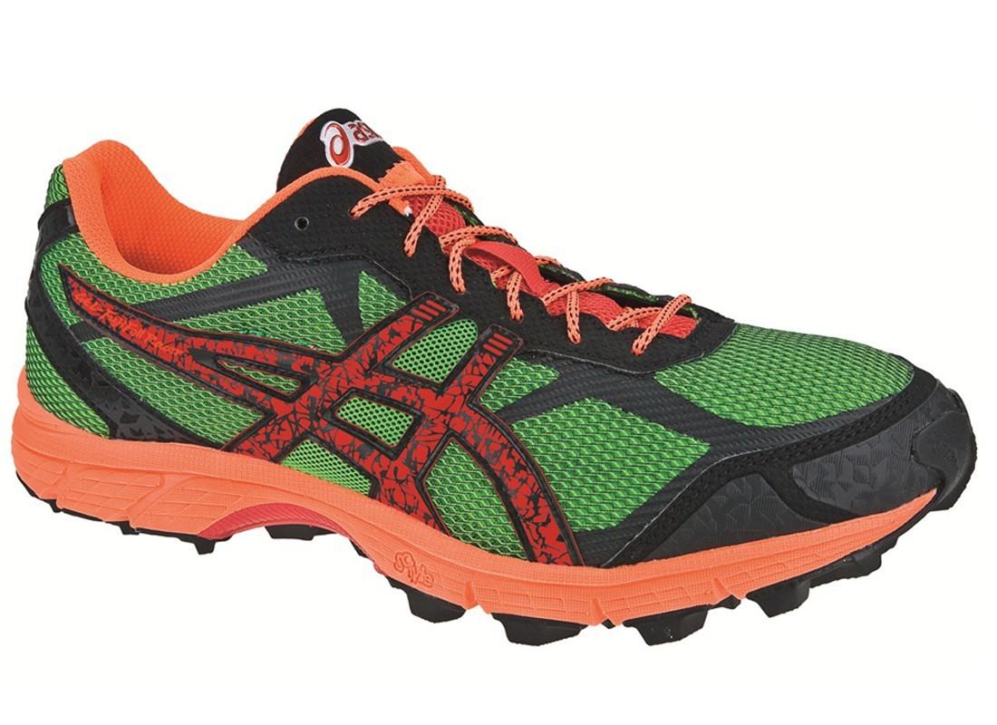 Asics Gel-Fuji Fell Racer Мужские кроссовки внедорожники зеленые