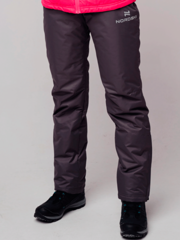 Nordski Premium женские утепленные лыжные брюки серые