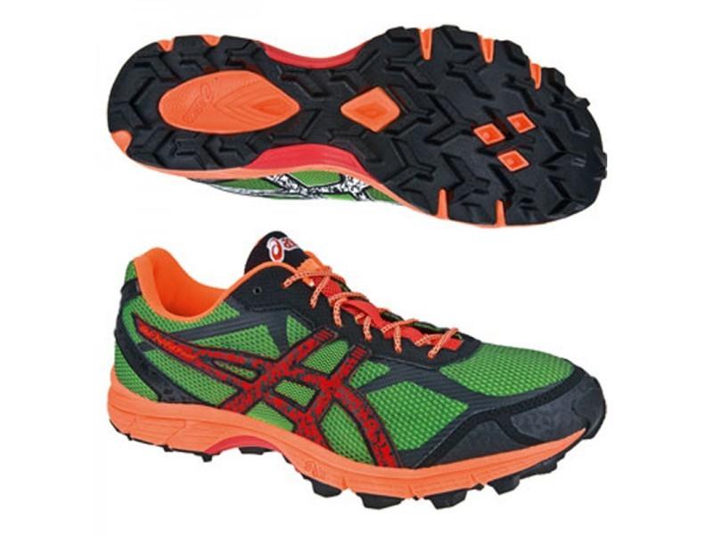 Asics Gel-Fuji Fell Racer Мужские кроссовки внедорожники зеленые - 6