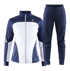 Craft Sharp Glide XC лыжный костюм женский темно-синий