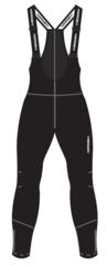 Nordski Active 2020 лыжные брюки-самосбросы мужские черные