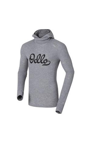 Odlo Warm Trend мужское термобелье рубашка с маской серое