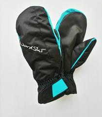 Nordski Arctic Membrane женские варежки black/aquamarine