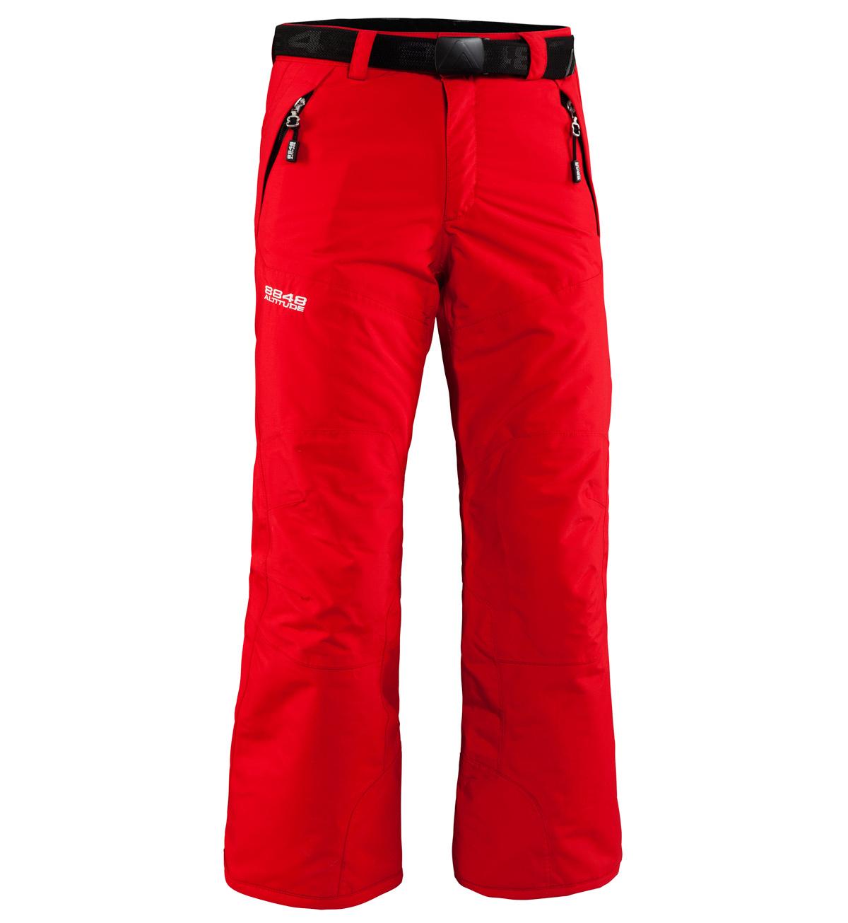 Брюки горнолыжные  8848 Altitude TOMBER детские Red