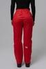 Nordski Light утепленные ветрозащитные брюки женские красные - 3