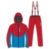 Nordski Montana Premium RUS прогулочный лыжный костюм мужской Red - 1