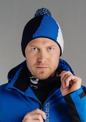 Nordski Knit лыжная шапка colour blue