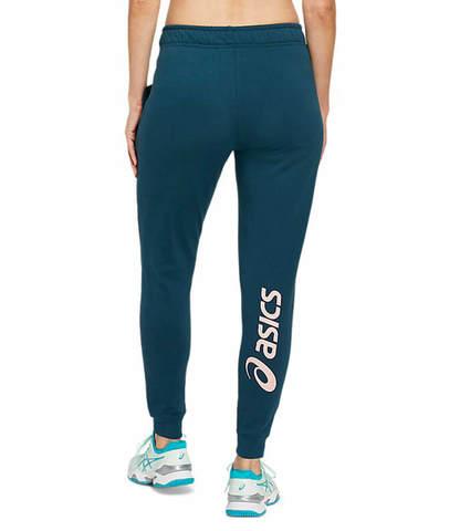 Asics Big Logo Sweat Pant спортивные брюки женские синие
