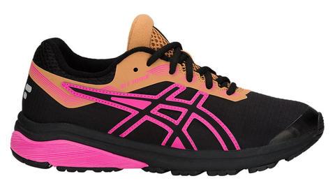 Asics Gt 1000 7 Gs Sp женские кроссовки для бега черные-розовые