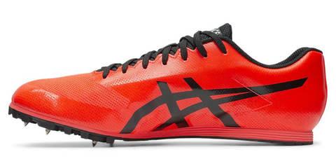 Asics Hyper Ld 6 легкоатлетические шиповки на длинные дистанции красные